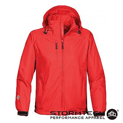 【加拿大STORMTECH】SSR-3E 輕薄防水透氣外套-男-紅