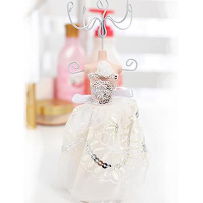 Aimee-Toff-中西小復古亮片花飾品架-白