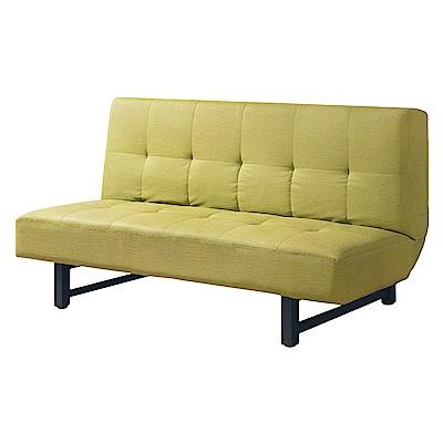 Bernice-清新綠色貓抓皮沙發床/三人椅/三人座