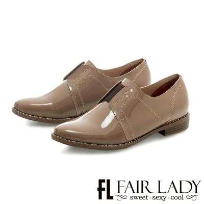 Fair Lady 俐落線條法式優雅大人感便鞋 芋
