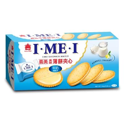 義美 牛奶薄餅夾心(144g)