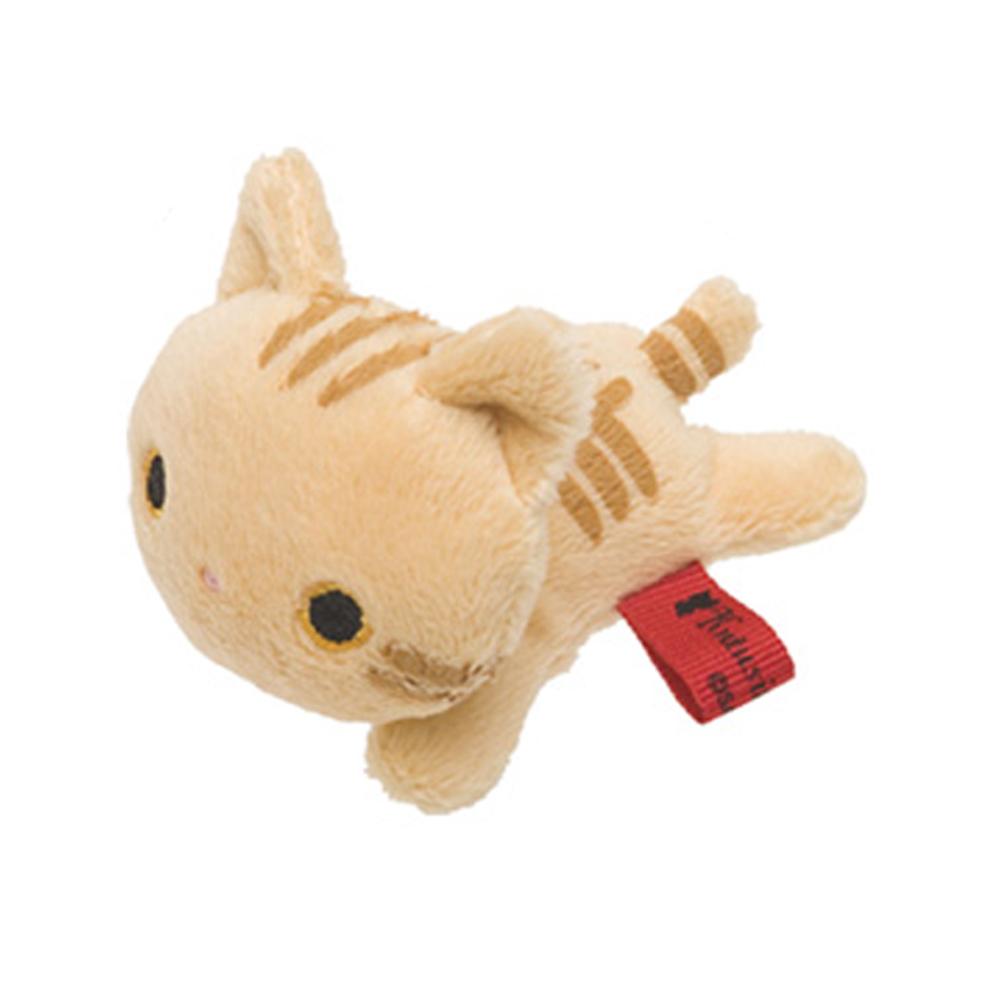 小襪貓貓町散步系列掌心毛絨小公仔。小虎貓