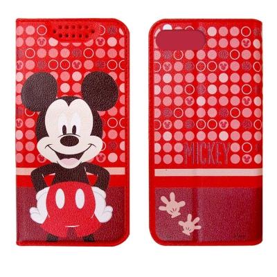 迪士尼正版授權 OPPO R11 普普風彩繪手機皮套(米奇)