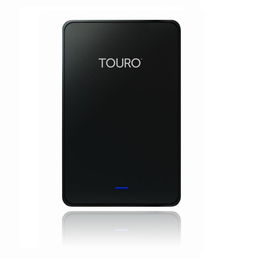 HGST 原(Hitachi) Touro Mobile 外接式硬碟 1TB-黑