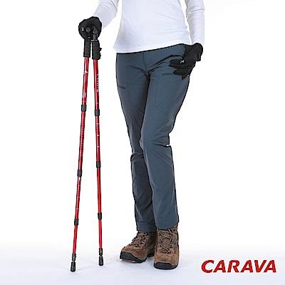 CARAVA《女款耐磨健行褲》(炭灰)