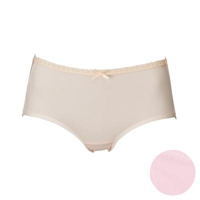莎薇 天絲A100 M-LL 中低腰三角褲(櫻花粉)