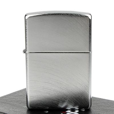 【ZIPPO】美系~Chrome Arch弧形拉絲刷紋鍍鉻打火機