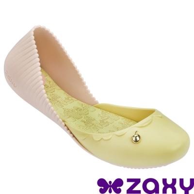 【ZAXY 巴西】杯子蛋糕休閒娃娃鞋 (香草黃)