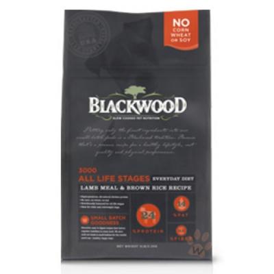 BLACKWOOD柏萊富-特調全齡犬配方(羊肉+糙米+雞肉)15磅