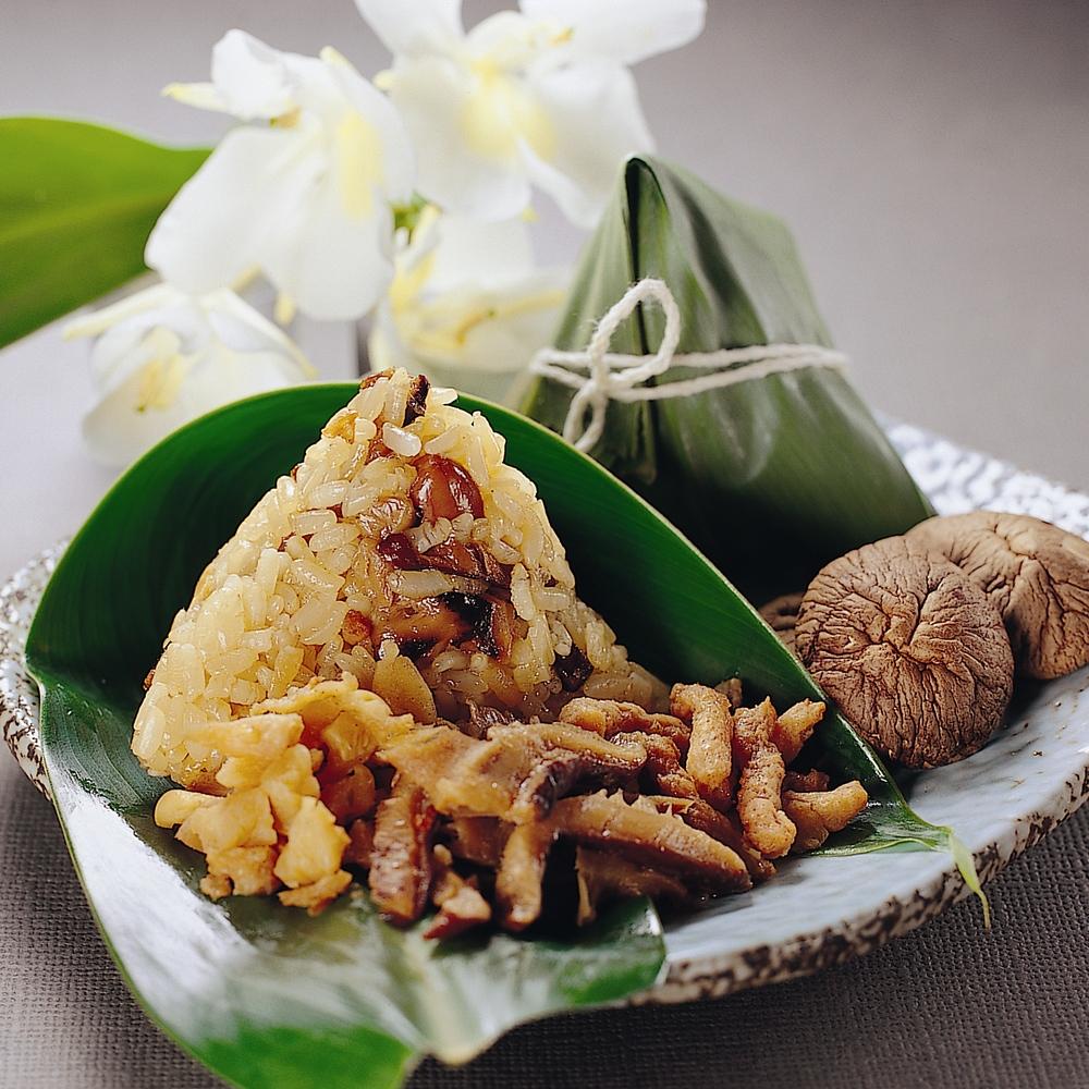 大嬸婆 野薑花粽-單盒(10顆;葷素可選)