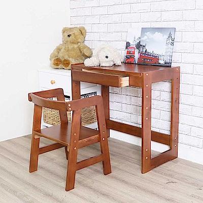 DIJIA 調整式兒童書桌+椅密糖色CH02+TA02