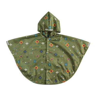 BOBO 歡樂家庭防風兒童雨衣