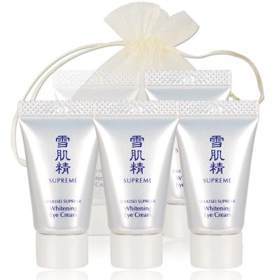 KOSE-高絲-雪肌精極淬晶淬潤白眼霜-5g-x5