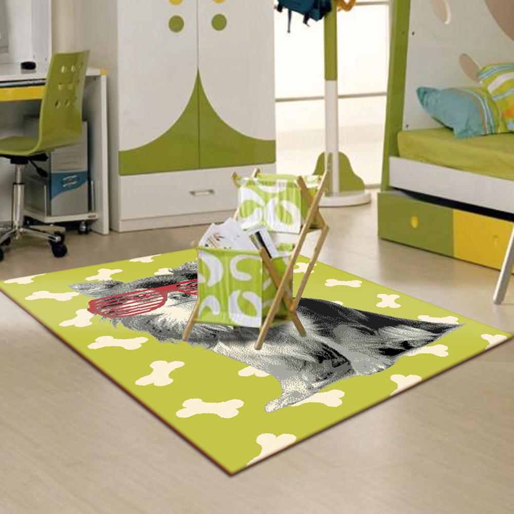 范登伯格 - 萊西 活潑遊戲地毯 - 酷寶 (綠 - 120 x 170cm)