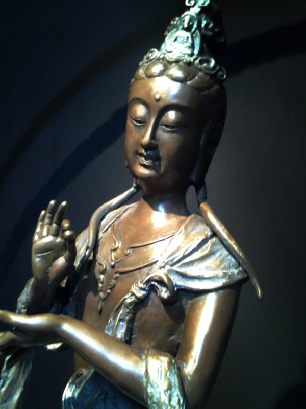 開運陶源 子問老師 限量原作銅雕~風雲(祥龍自在) (觀世音菩薩)