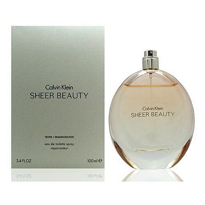Calvin Klein Sheer Beauty 純淨雅緻女性淡香水100ml Test
