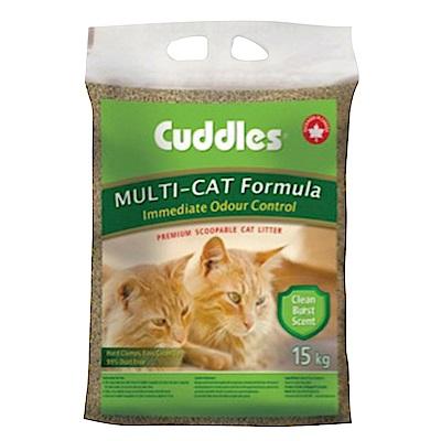 MDOBI摩多比-Cuddles 加拿大 諾美利加 香味凝結貓砂(15kg)