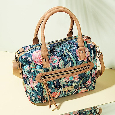LiliO  側背包  非洲花卉彩繪印花  S Handbag Cosmos