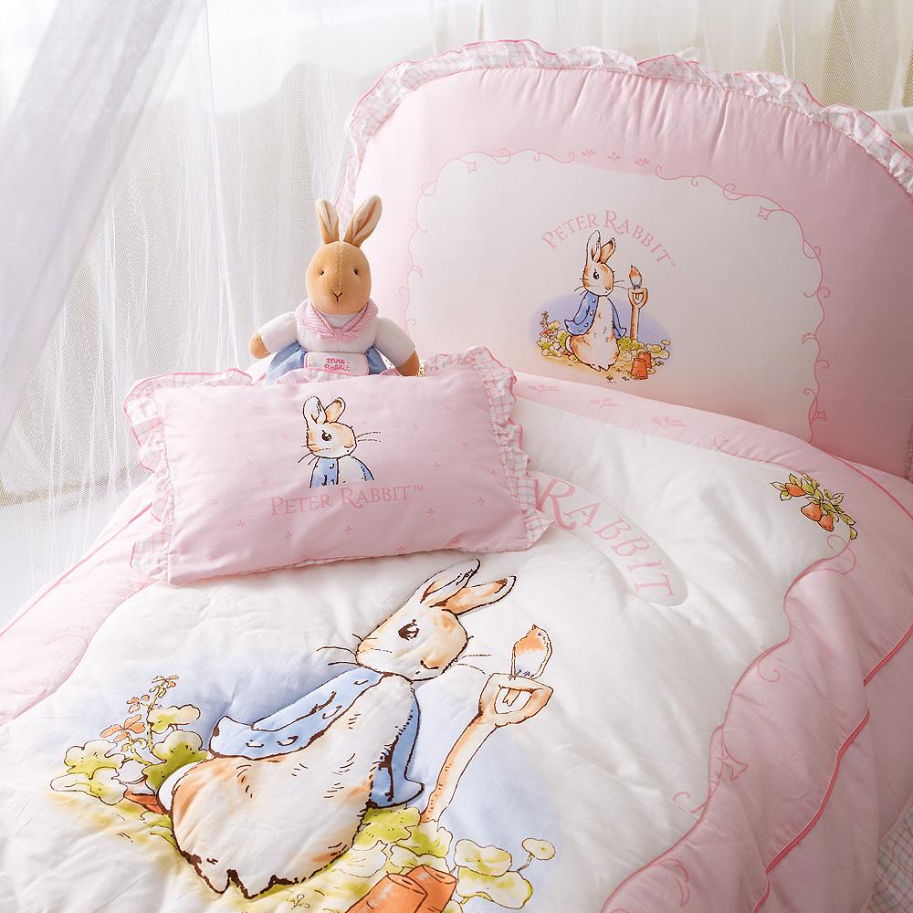 粉彩比得兔6件床組-粉紅M