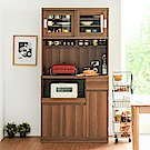 Home Feeling 廚房櫃/電器架/餐廚櫃(3色)-90x41x182