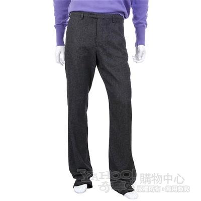 KENZO 深灰色西裝褲(內裡藍色車線)