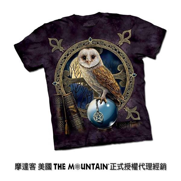 摩達客 美國進口The Mountain 咒語貓頭鷹 純棉環保短袖T恤