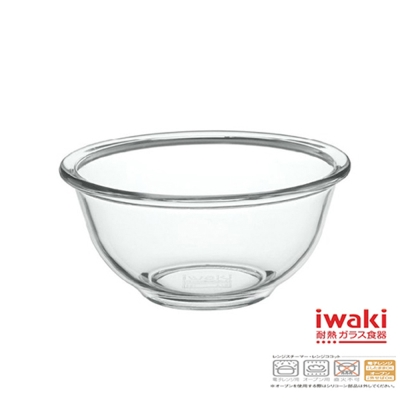 【iwaki】玻璃微波碗900ml