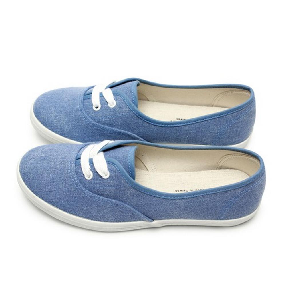 FUFA  MIT 簡約休閒休閒鞋 (A41)-牛仔藍