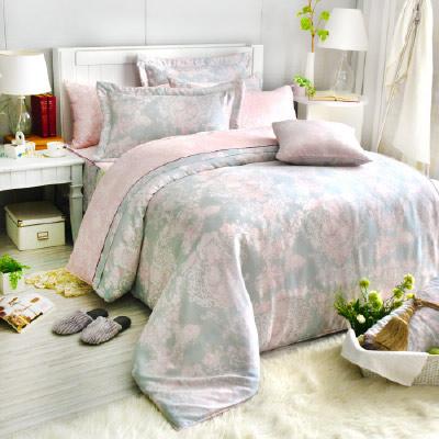 Saint Rose 狄安娜 加大100%純天絲兩用被套床包四件組