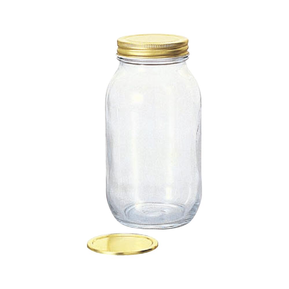 日本ADERIA 雙蓋玻璃儲物罐925ml (2入)