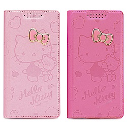 GARMMA Hello Kitty iPhone X 金屬牌皮套 –擁抱小熊