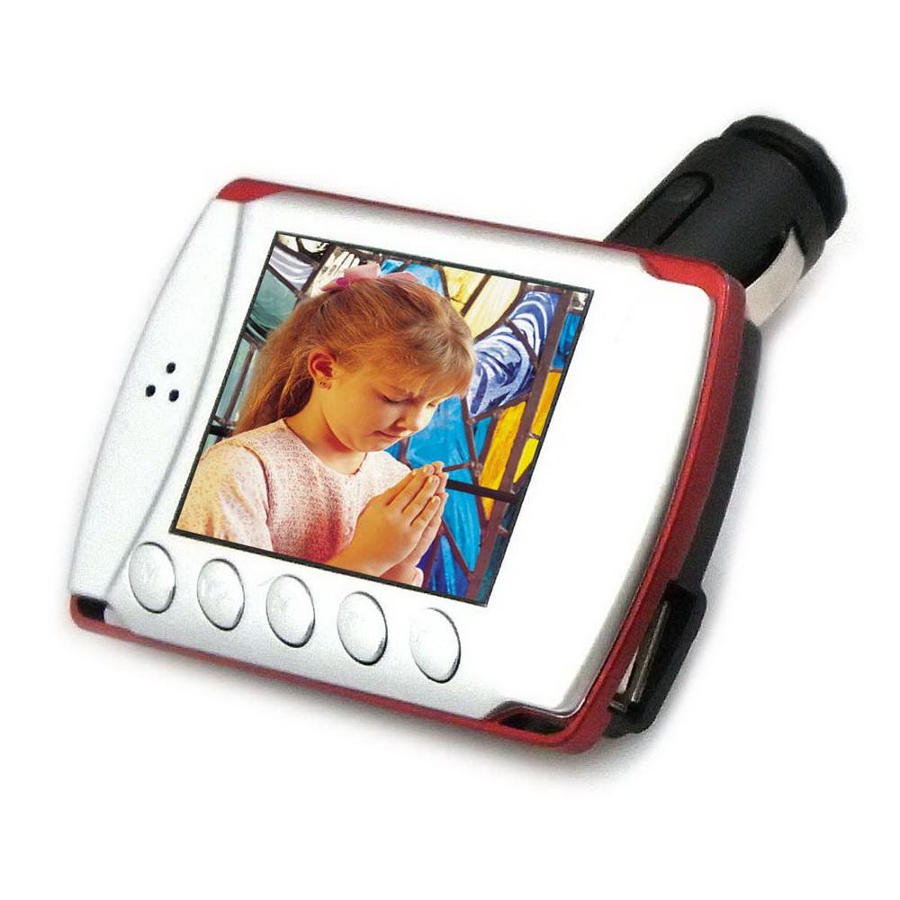 DW-M14彩色液晶螢幕車用MP4 轉播器(加贈多功能遙控器)