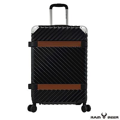 RAIN DEER 賽維亞20吋PC+ABS亮面行李箱-曜石黑