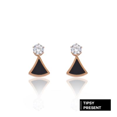 微醺禮物 耳環 正韓 鋼針 鋼飾 鋯石 晴天娃娃 耳針 耳環