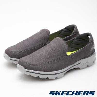 SKECHERS (男) 健走系列GO Walk 3 - 54046CHAR