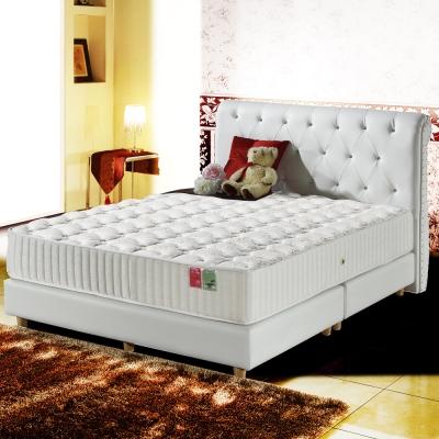 MG珍寶-高等級蠶絲+抗菌硬式獨立筒床墊-單人3.5尺