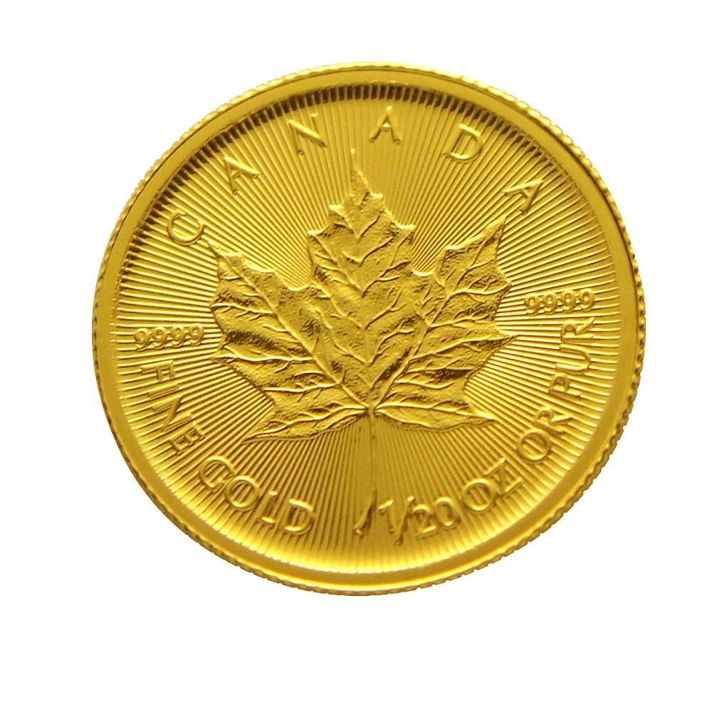 楓葉金幣-加拿大2017楓葉金幣 (1/20盎司)