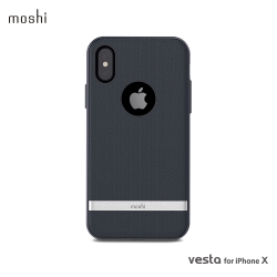 Moshi Vesta for iPhone XS/X 高機能布面保護背殼