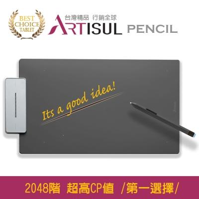 Artisul Pencil Medium繪圖板 (金屬灰)