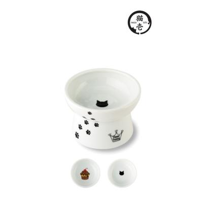 貓壹 快樂食光 高腳食碗