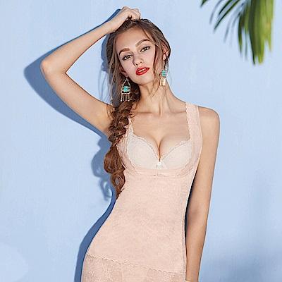 曼黛瑪璉-美型顯瘦 輕機能 寬肩帶背心S-XL(裸麥膚)