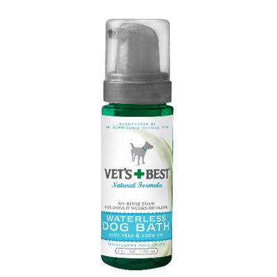 翡特絲 VET'S BEST《犬用乾洗泡沫》清潔護理系列  5 oz