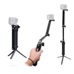 運動相機專用 多功能 三向 手持 自拍桿 適用 GoPro 小蟻 山狗