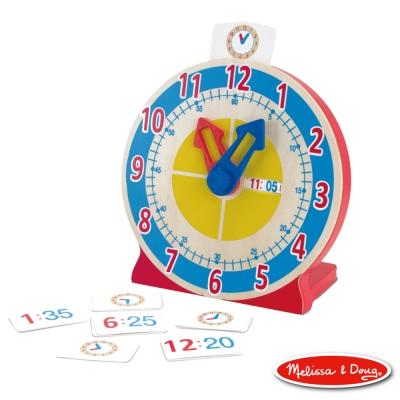 美國瑪莉莎 Melissa & Doug 啟蒙益智 - 學習認知時鐘