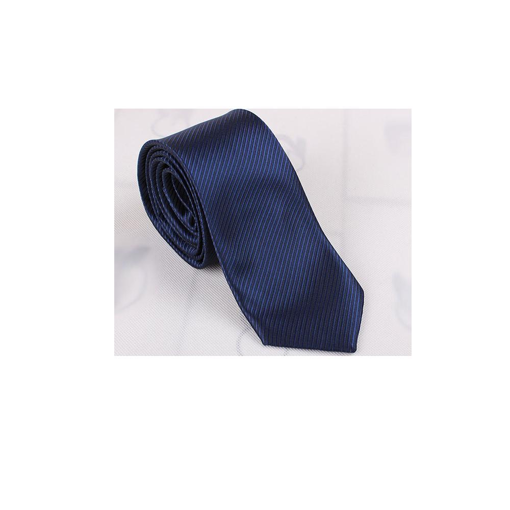 拉福  斜紋領帶6cm中窄版領帶拉鍊領帶 (深藍.銀.黑)