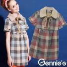 Gennie's奇妮–可愛小毛領格紋保暖羊毛秋冬孕婦上衣(G3Y23)-2色可選