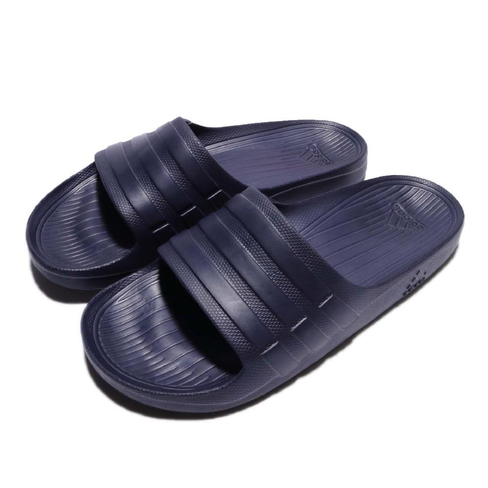 adidas 拖鞋 DURAMO SLIDE 男鞋 女鞋