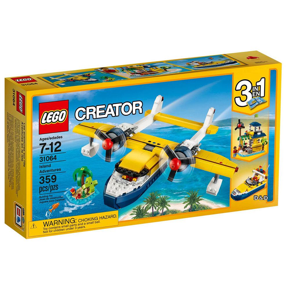 樂高LEGO 創意大師Creator系列 - LT31064 島嶼探險