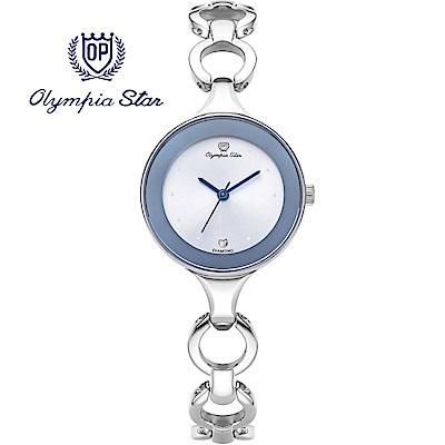 Olympia Star 奧林比亞之星  極簡風尚珠寶腕錶 -白   28030LS
