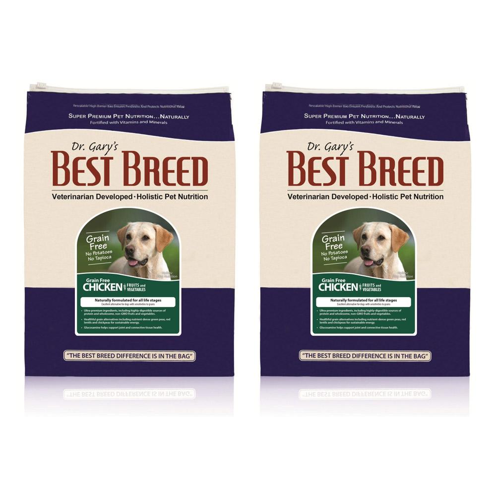 BEST BREED貝斯比 全齡犬無穀雞肉+蔬果配方 犬飼料 1.8kg X 2包入